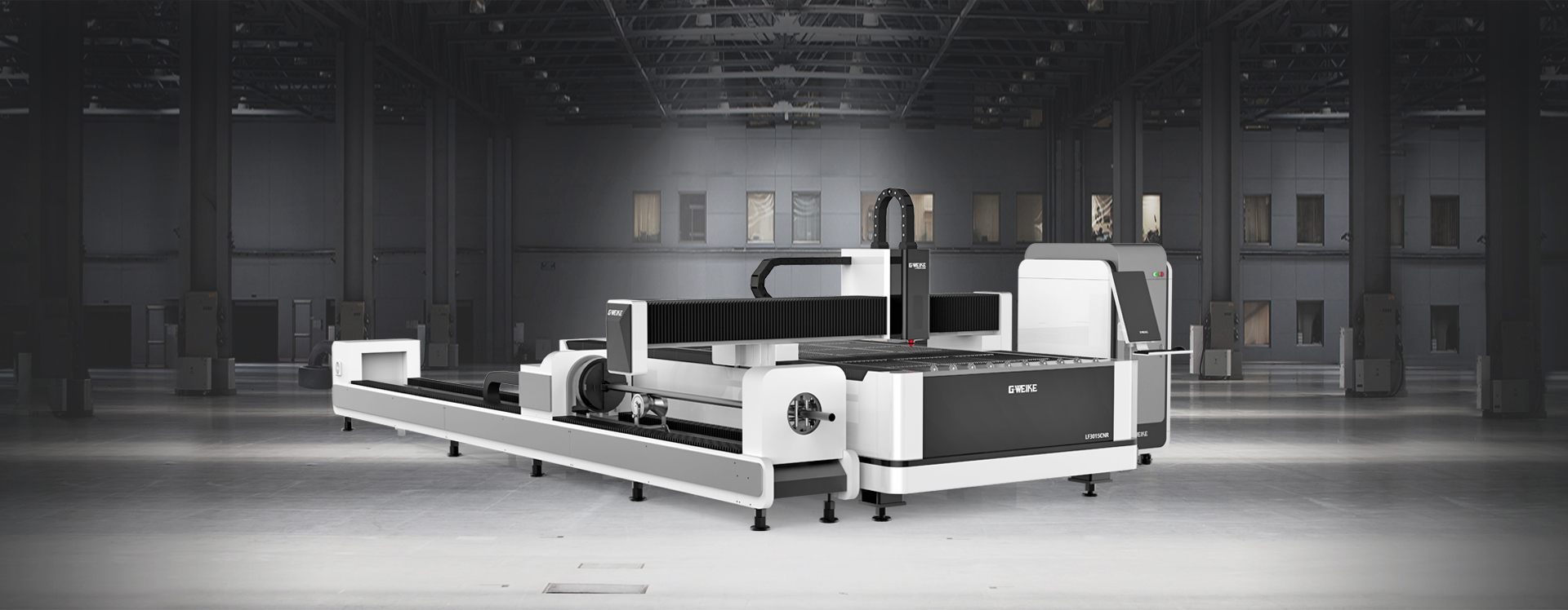 LF3015CR CNC PIPE & PLATE DUAL-USE FIBER LASER CUTTING MACHINE