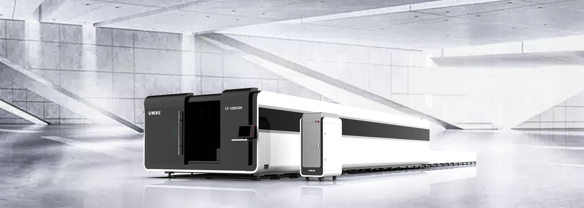 LF4020GH WHOLE COVER FIBER LASER CUTTING MACHINE